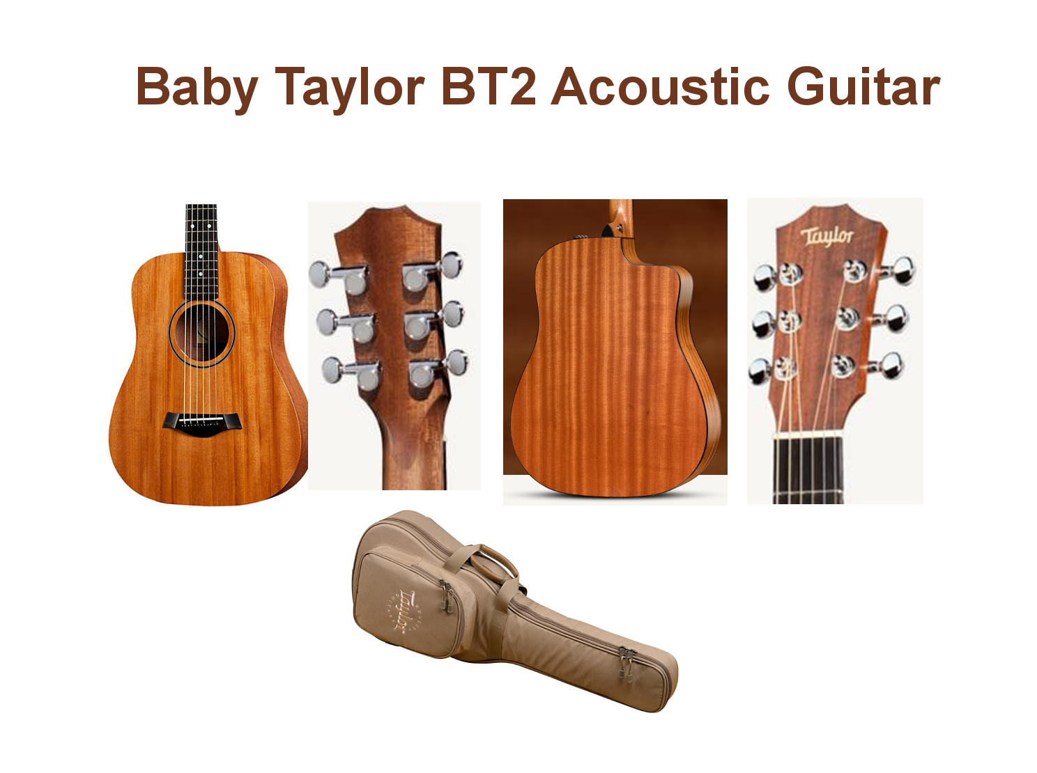 Baby Taylor BT2 Acoustic Guitar