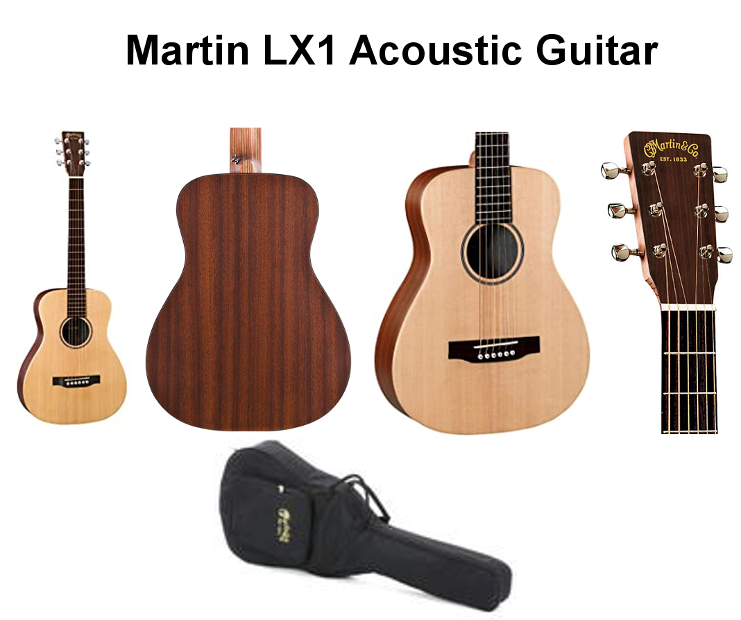 Martin LX1 Acoustic Guitar and Gigbag