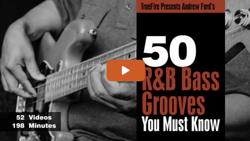 50 R&B Bass Grooves
