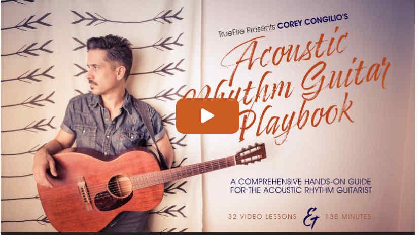 Acoustic Rhythm Guitar Playbook Corey Congilio