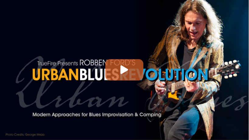 Urban Blues Revolution - Robben Ford